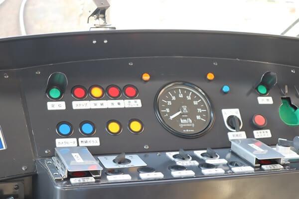 フクラムの運転席