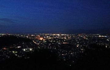 福井市の夜景
