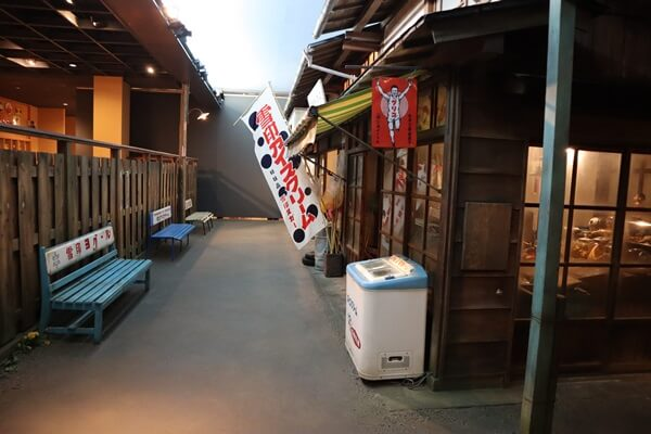 福井県立歴史博物館の館内