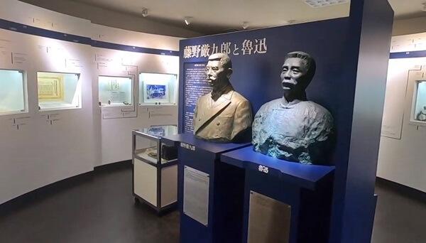 2人の銅像