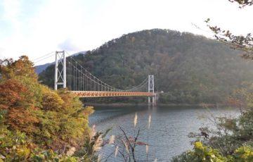 九頭竜湖の橋