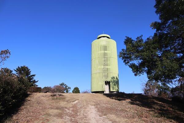 天筒山の展望台