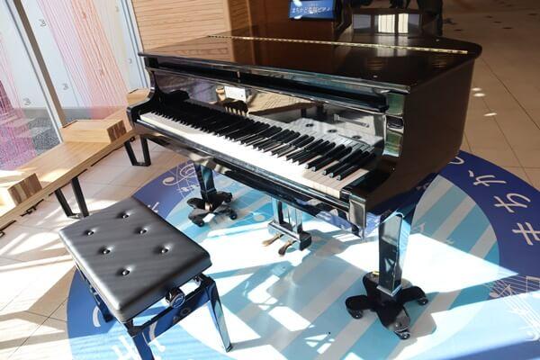 えちぜん鉄道福井駅のピアノ
