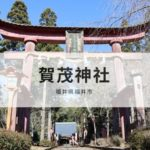 福井の賀茂神社はどんな神社なの?行き方は?