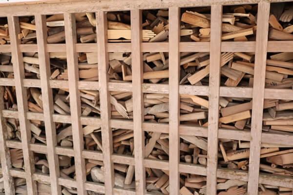 木製の御手足型