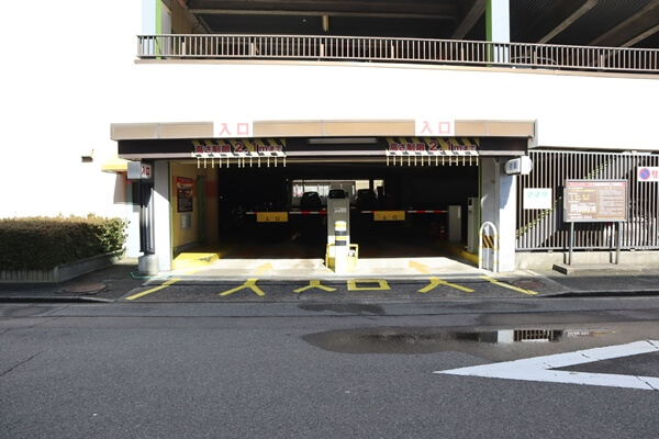 フェニックスプラザの駐車場