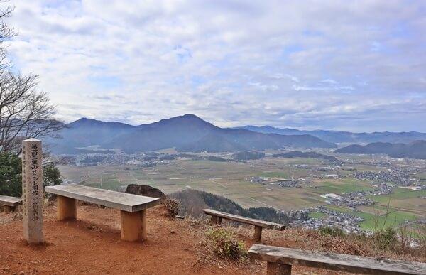 三里山の景色