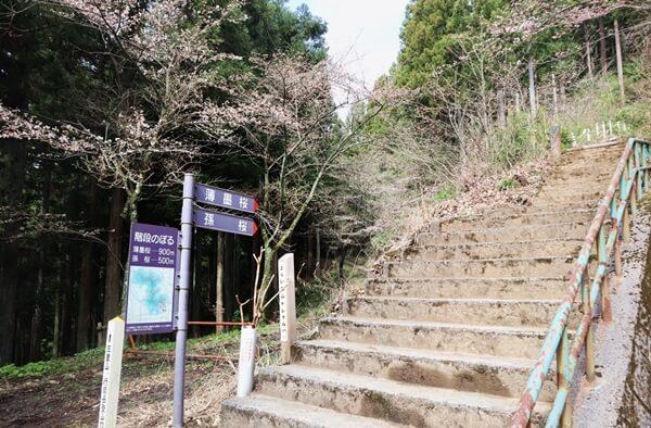 琴弾山展望台登山口