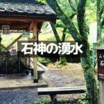 【越前市の石神の湧水】大虫神社のおいしい水はどんな場所?