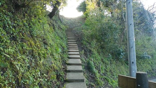 階段の登り