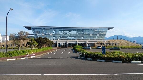 敦賀のフェリーターミナル