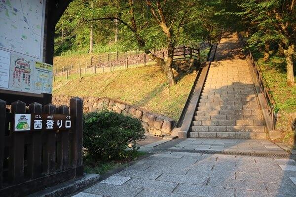 大野城の西口