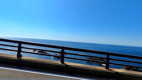 越前岬の道