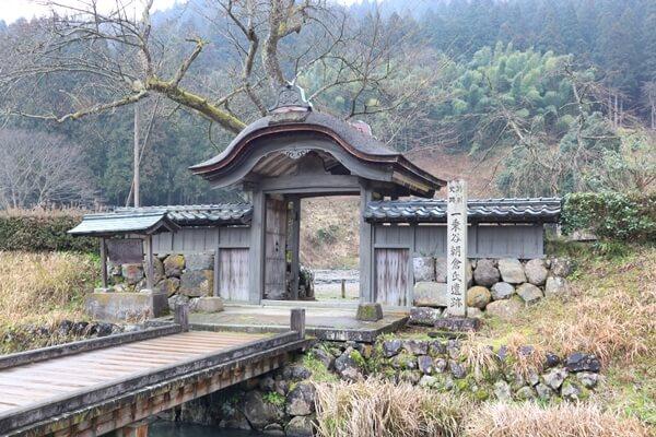 朝倉氏遺跡の唐門