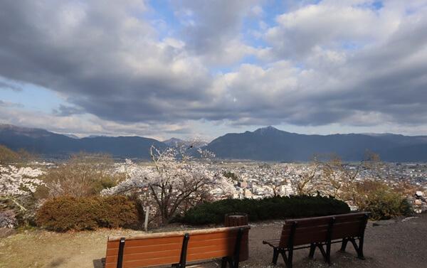 大野城の眺望