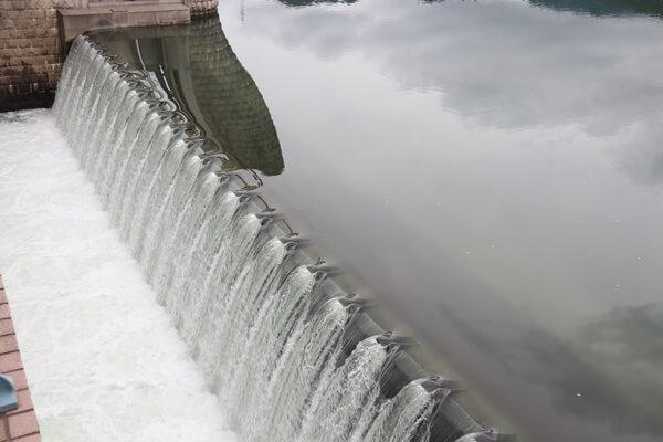 九頭竜川鳴鹿大堰