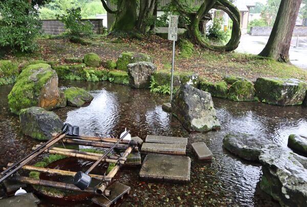 岡の泉の雰囲気