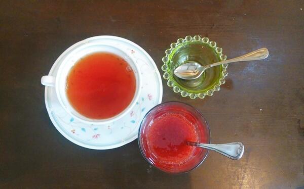 ロシア風の紅茶