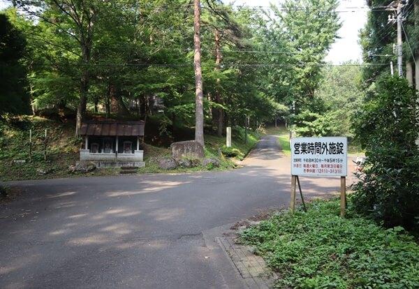 千年の森の入り口