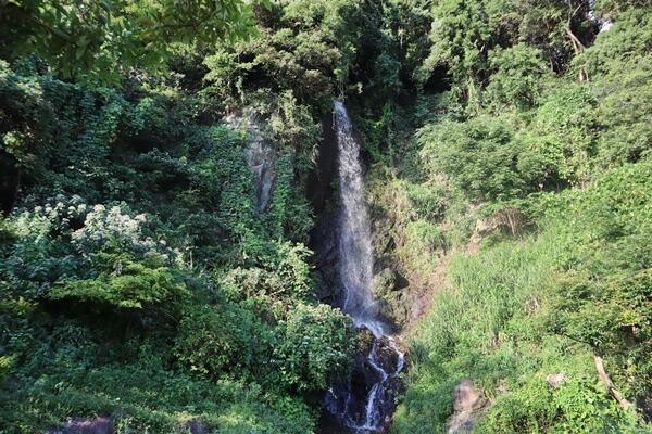 白竜の滝の上部