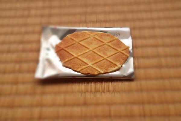 チーズワッフルクッキーの外観