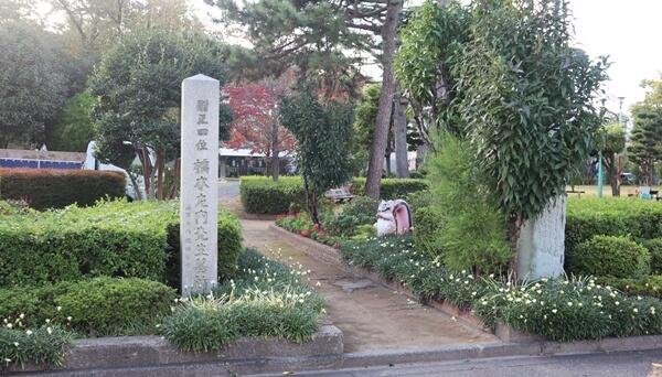 左内公園の入り口