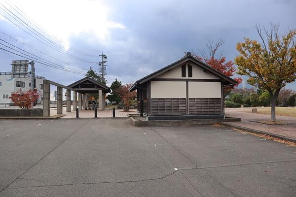 汐見公園の駐車場