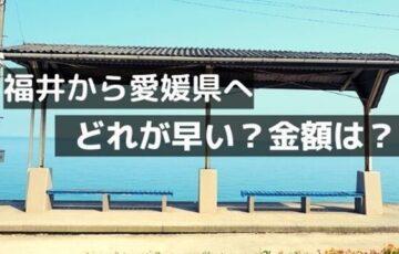 福井から愛媛
