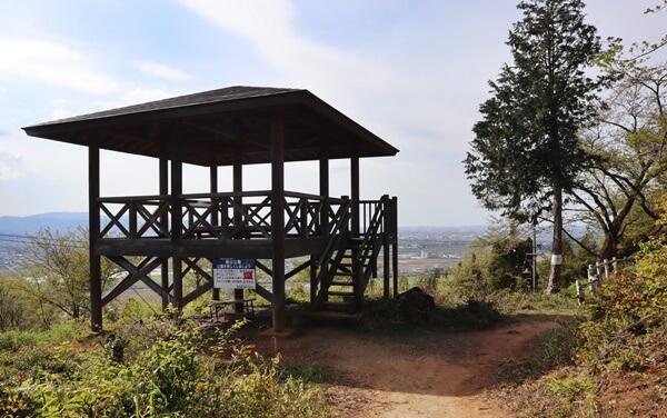 東山公園の展望台