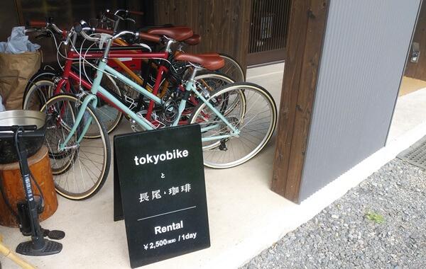 東京バイクをレンタル