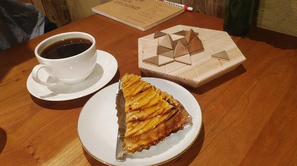 長尾とコーヒー