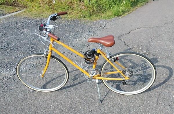 池田でサイクリング