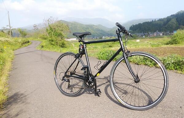 長尾と珈琲の自転車