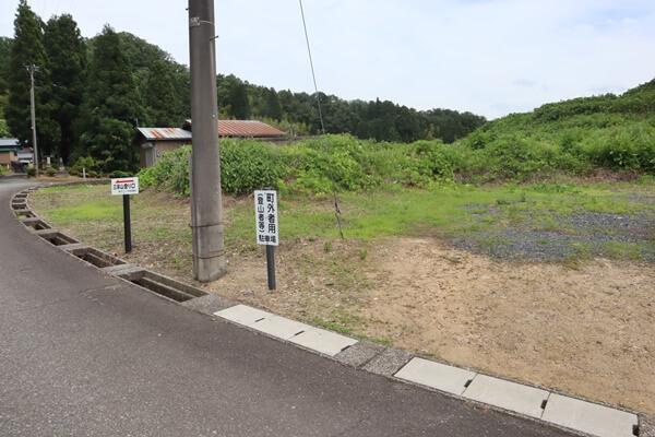 和田コースの駐車場
