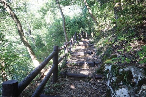 行司岳の登山道