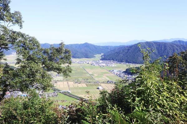行司岳の眺め