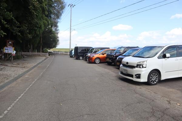 下市山の駐車場